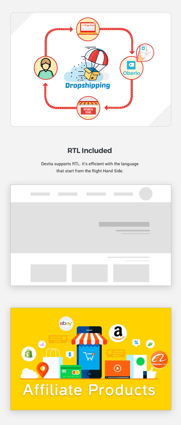 Devita - eCommerce Shopify Theme - 3