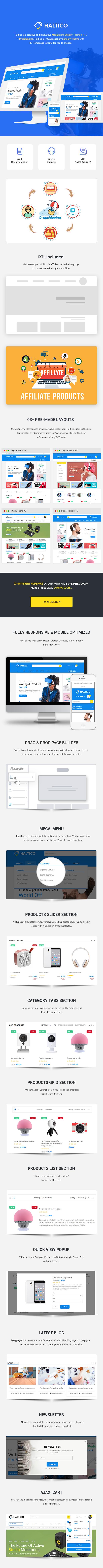 Mega Store Shopoify Theme