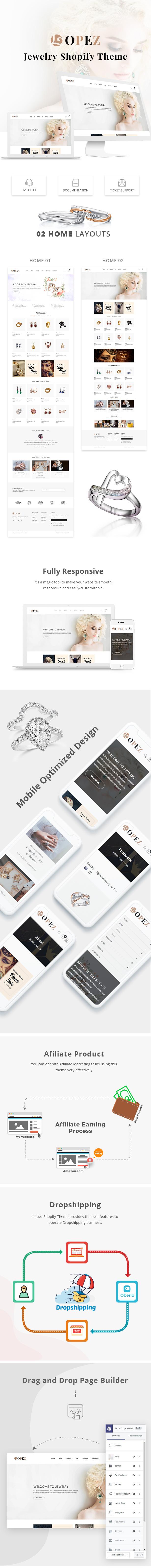 Lopez – Jewelry Shopify Theme - 1