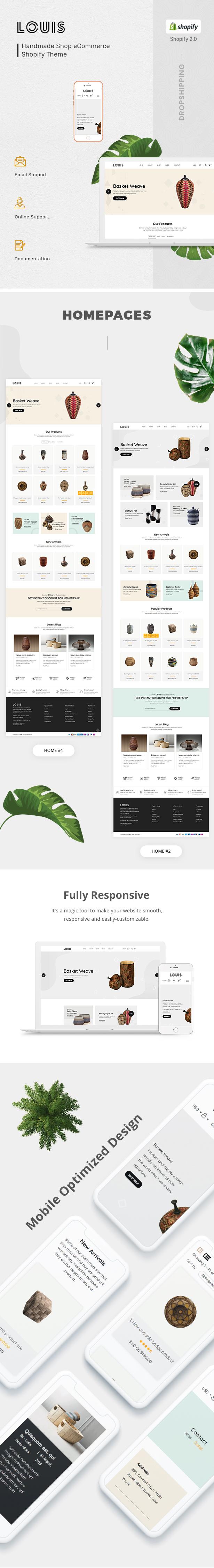 Handmade & Craft Shopify Theme