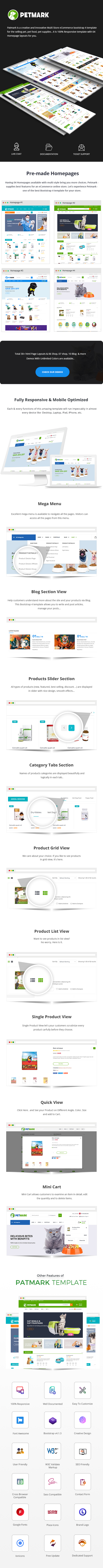 Pet Care & Veterinary Bootstrap Template