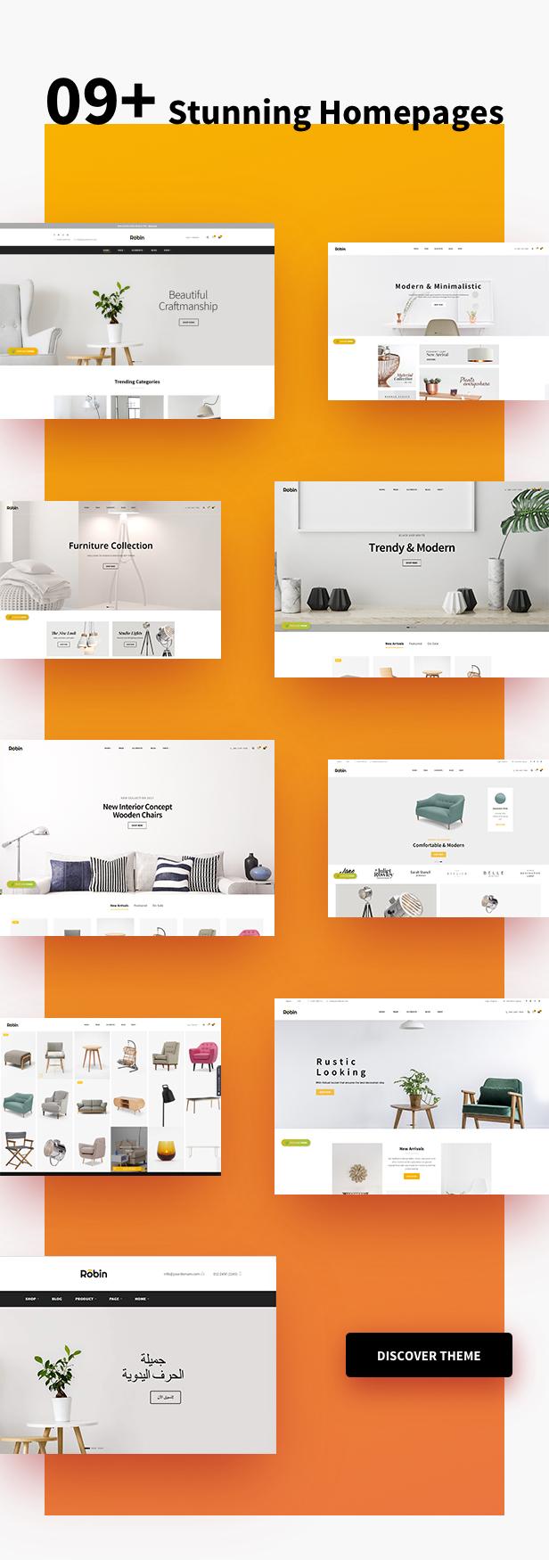 Robin – Furniture Shopify Theme