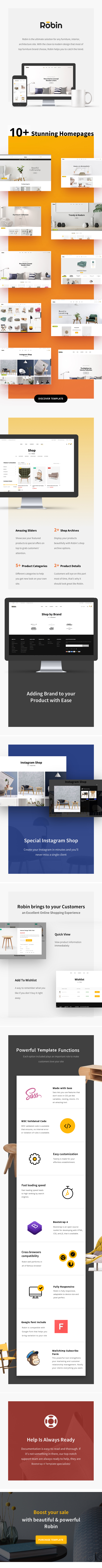 Furniture HTML Template - Robin - 1
