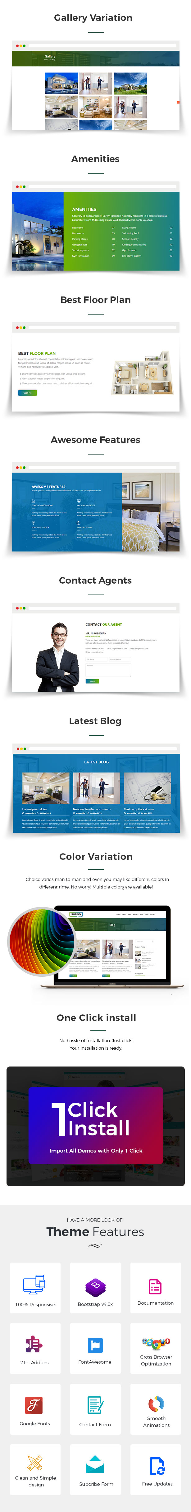Sopnovilla – Single Property WordPress Theme - 3