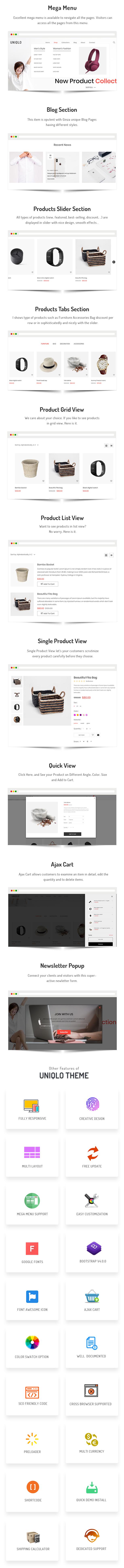Uniqlo - Minimal eCommerce Shopify Theme - 3