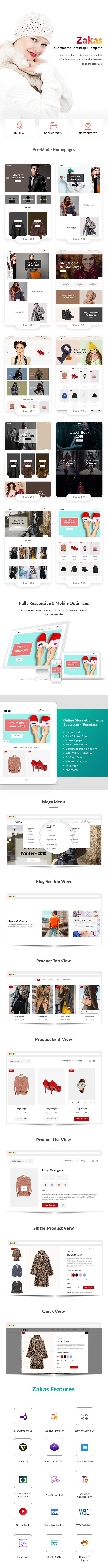 Fashion eCommerce Template