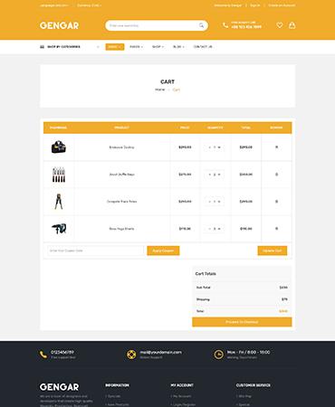Gengar - Multipurpose Shopify Theme