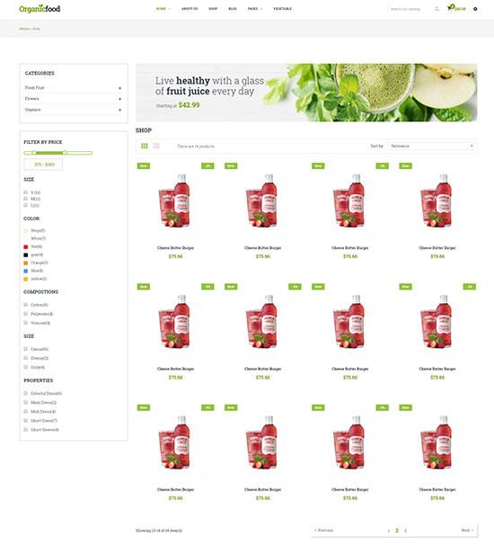 ECommerce Shopify Theme + RTL + Dropshipping