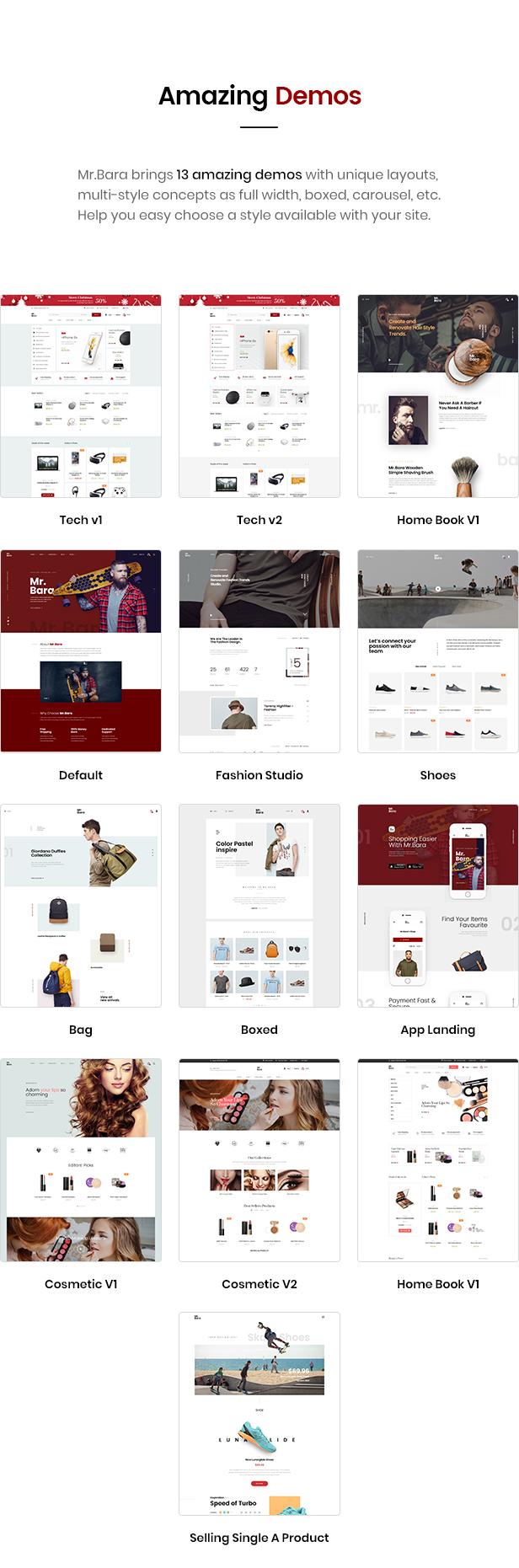 Mr.Bara - Multipurpose eCommerce HTML Template - 3