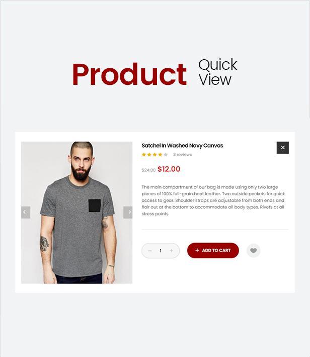 Mr.Bara - Multipurpose eCommerce HTML Template - 4