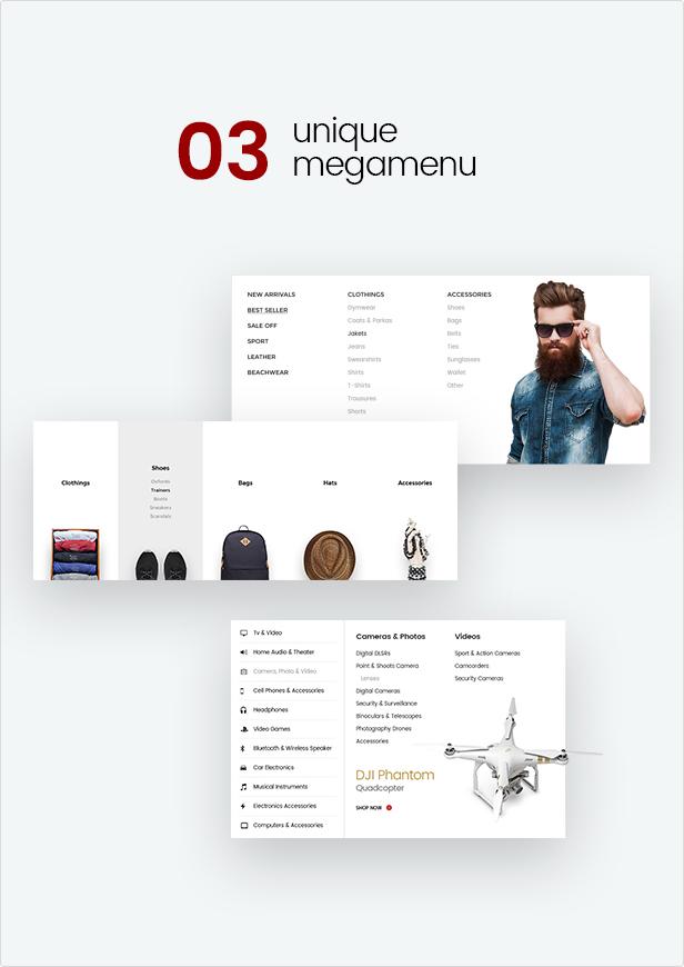 Mr.Bara - Multipurpose eCommerce HTML Template - 5