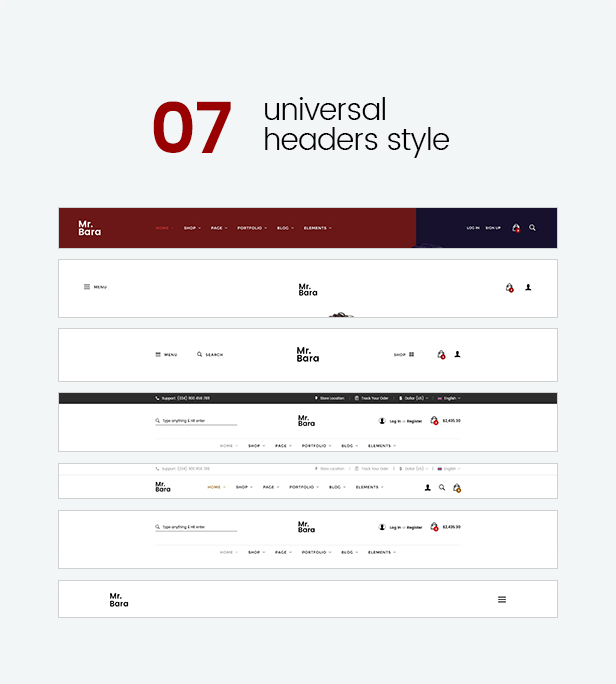 Mr.Bara - Multipurpose eCommerce HTML Template - 6
