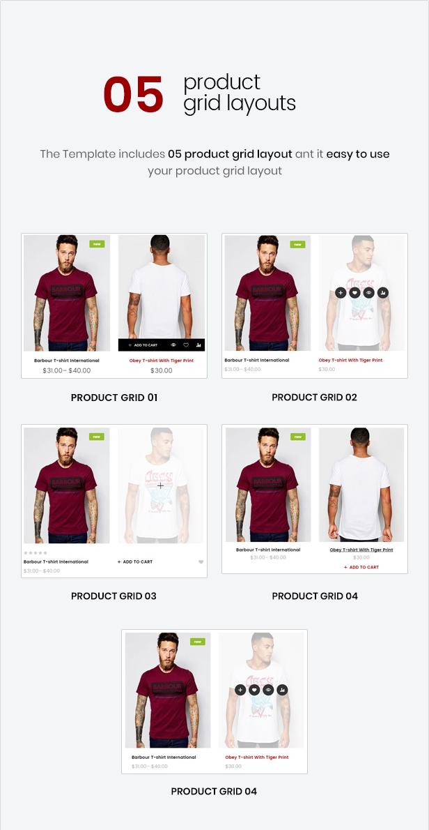 Mr.Bara - Multipurpose eCommerce HTML Template - 9