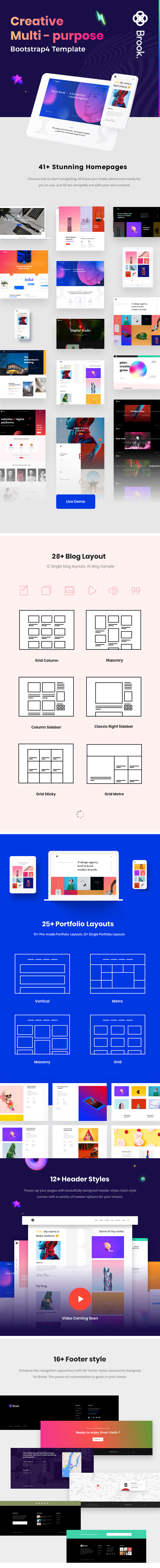 Creative Agency & Business HTML Template