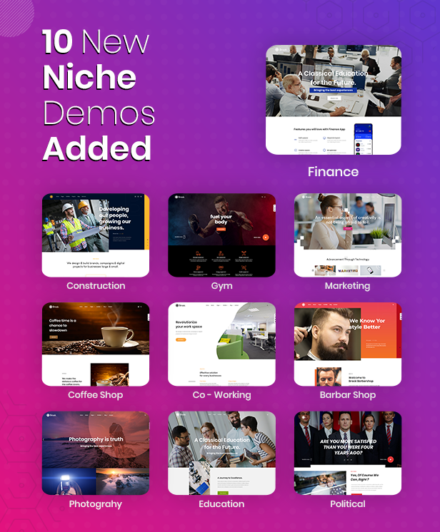 Brook - Creative Agency & Business HTML Template - 1