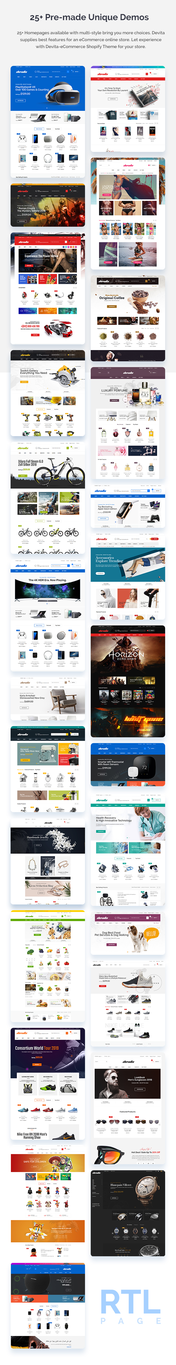 Devita - eCommerce Shopify Theme - 5