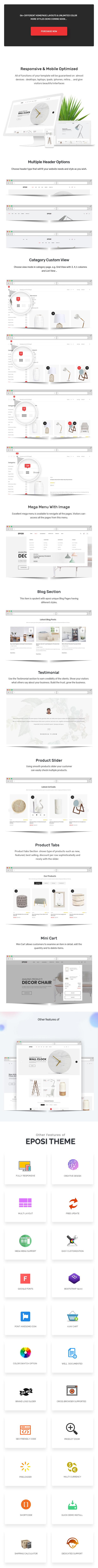 Eposi - Furniture Store Shopify Theme - 4