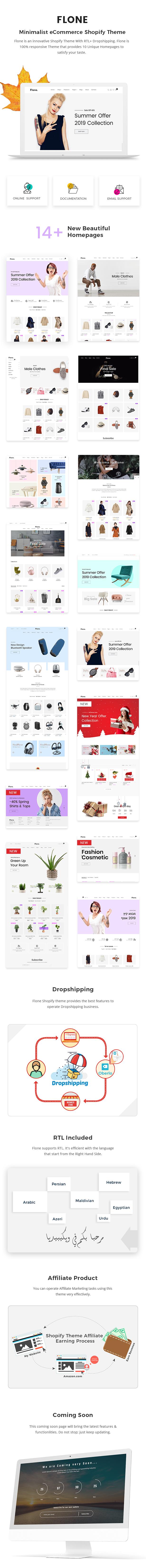 Flone - Minimal Shopify Theme - 2