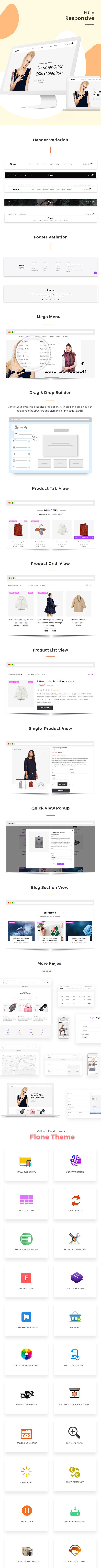 Flone - Minimal Shopify Theme - 4