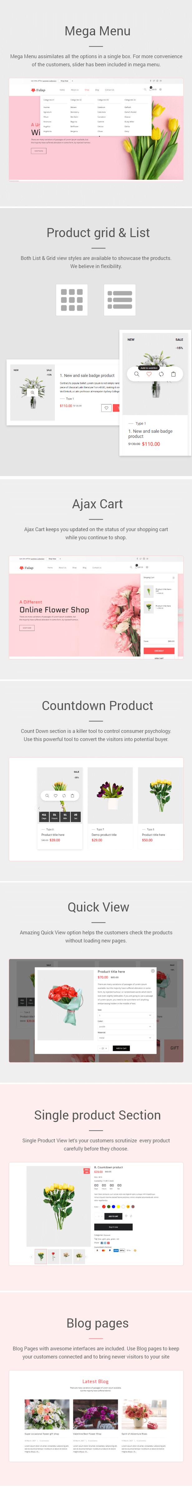 Fulap - Flower Store Shopify Theme - 2