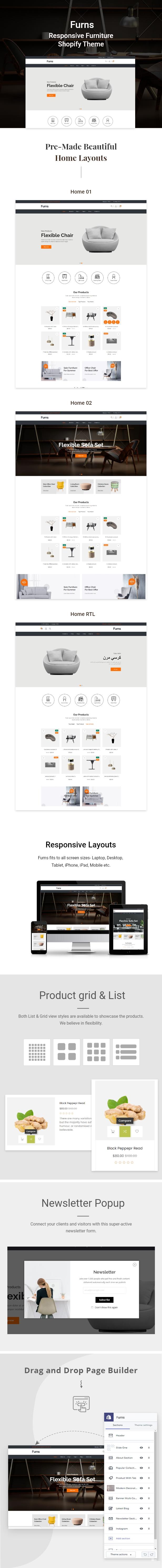 Furns - Furniture Shopify Theme - 1