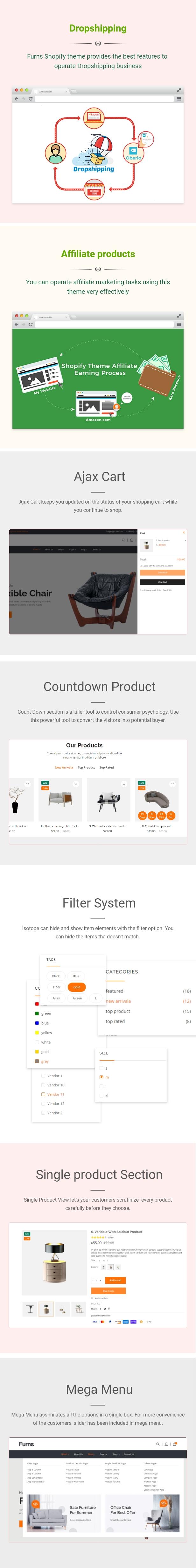 Furns - Furniture Shopify Theme - 2