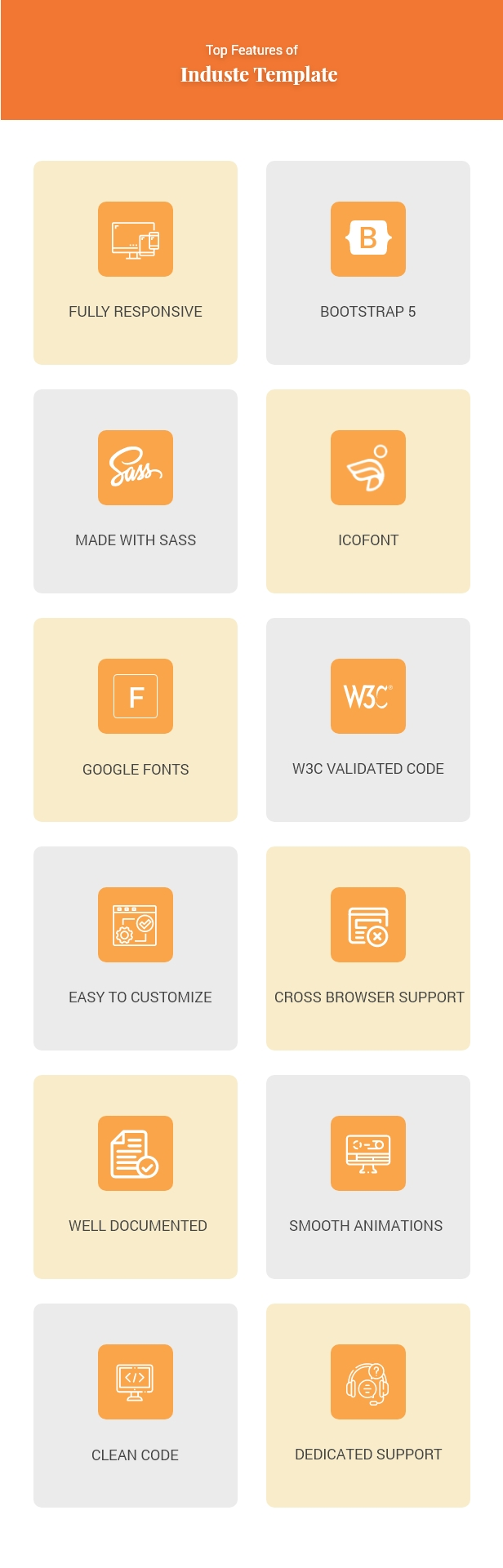 Induste - Industrial & Factory Bootstrap 5 Template - 2