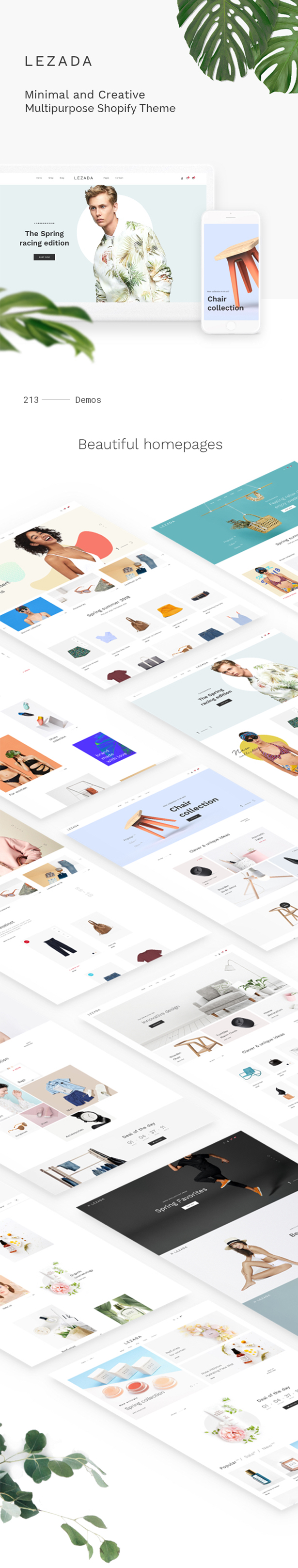 Lezada - Multipurpose Shopify Theme - 4