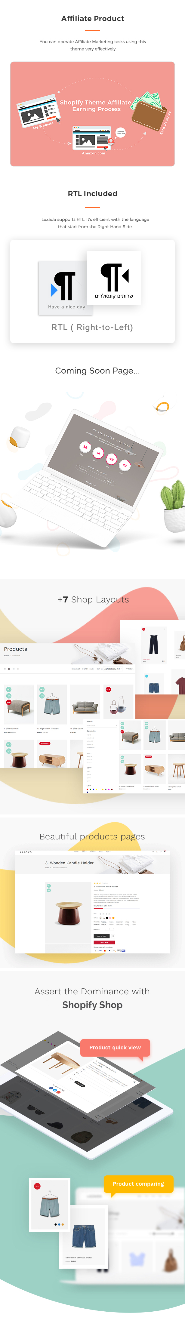 Lezada - Multipurpose Shopify Theme - 6