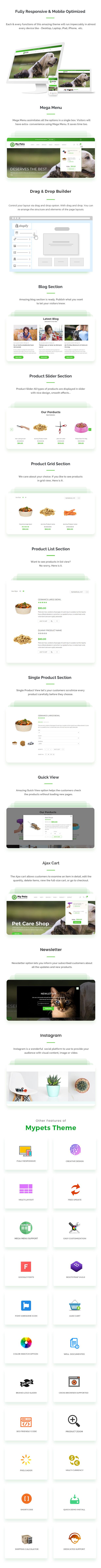 Pet Sitter, Pet Shop, Animal Care Shopify Theme