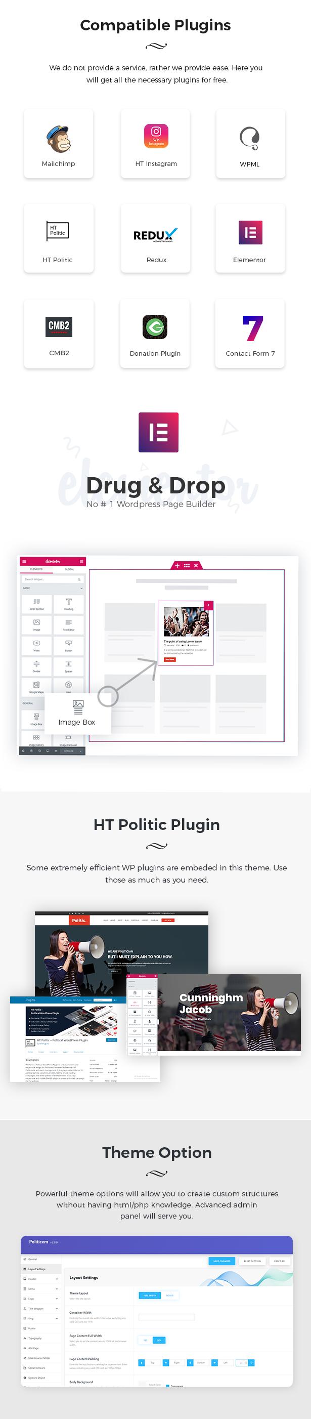 Political WordPress Theme