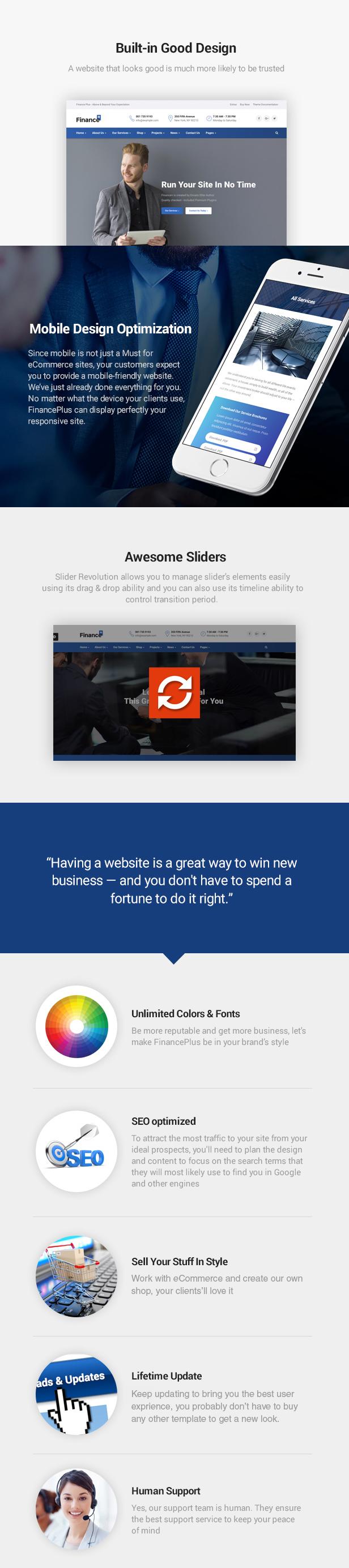 Finance Business HTML Template - Sanders - 5