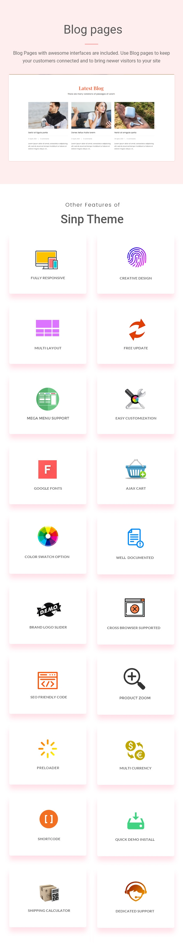 Sinp - Single Product Multipurpose Shopify Theme - 3