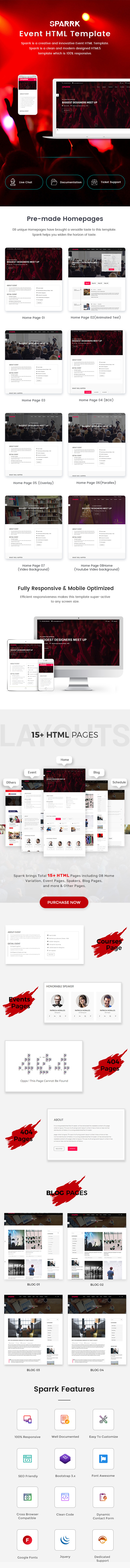 Event Bootstrap Template