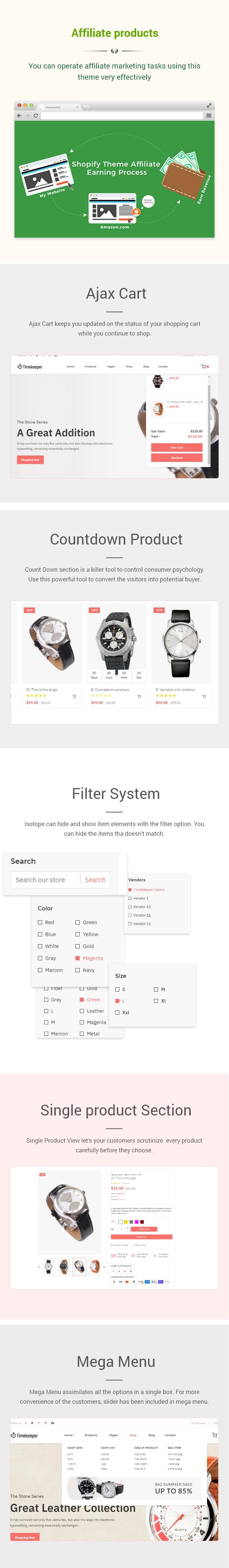 Timekeeper - Watch Store Shopify Theme - 2