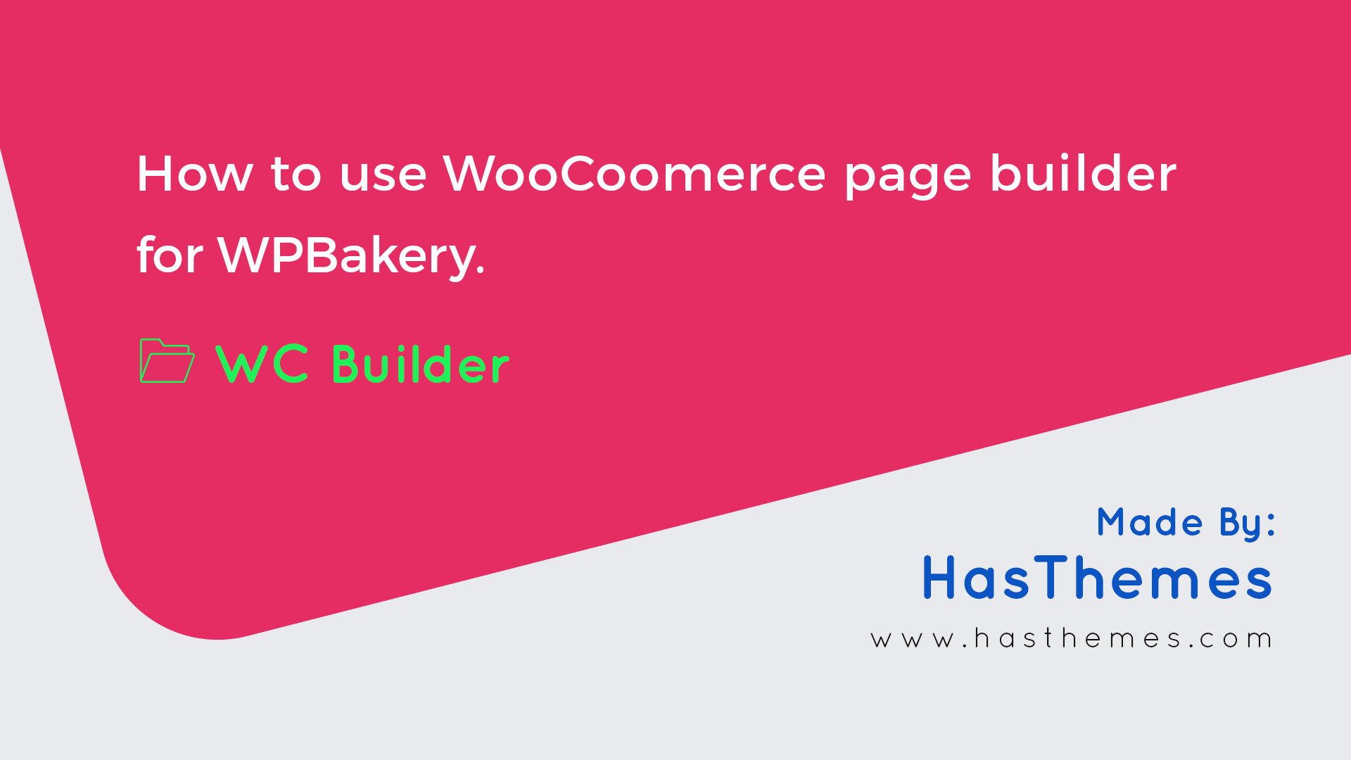 WC Builder Pro – WooCommerce Page Builder for WPBakery - 1