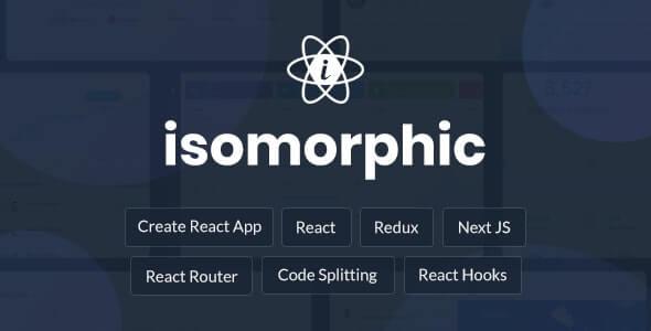 Isomorphic React Redux Admin Dashboard