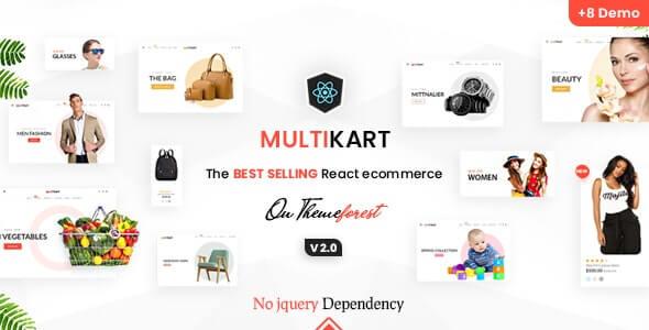 Multikart Responsive React eCommerce Template