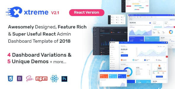 Xtreme React Admin Template