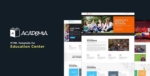 Academia Education HTML Template