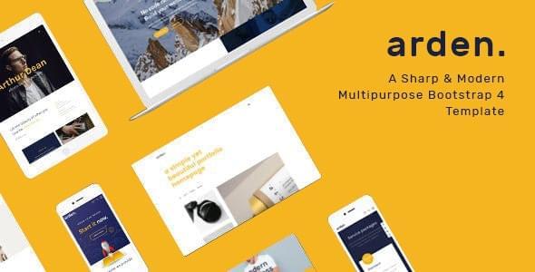 Arden Multipurpose HTML Template