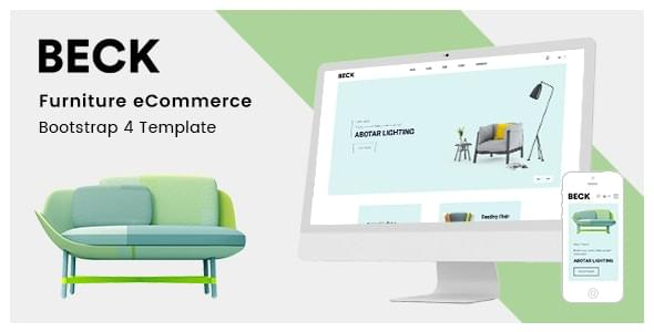 Beck Furniture Store HTML Template