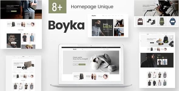 Boyka Fashion eCommerce HTML Template