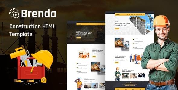 Brenda Construction HTML5 Template