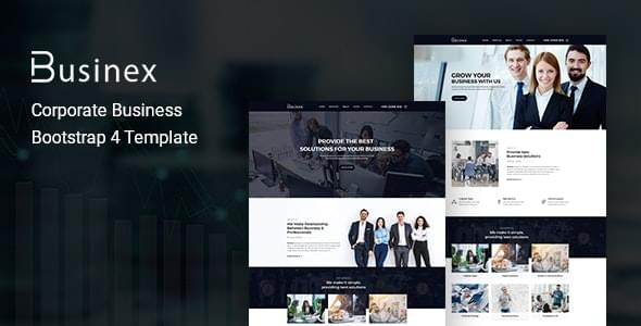 Businex Corporate Business HTML Template