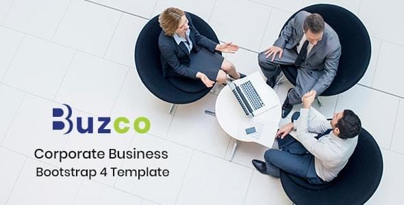 Buzco Corporate Business HTML5 Template