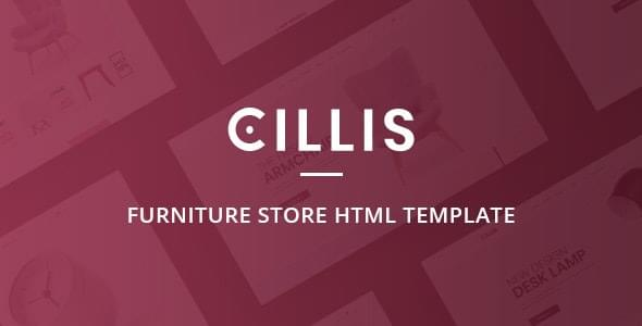 Cillis Furniture Store HTML Template