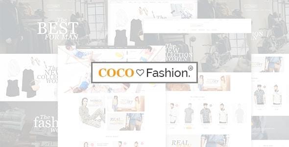 Coco Fashion Store HTML Template