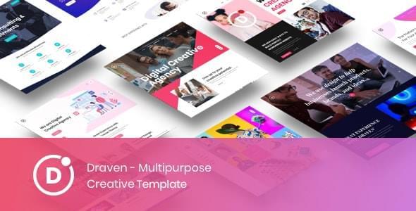 Draven Multipurpose Creative Template