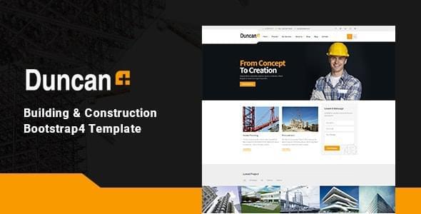 Duncan Construction HTML Template